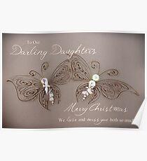 Darling Daughters - Christmas Poster