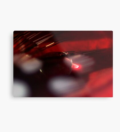Drenched in Wine Metal Print