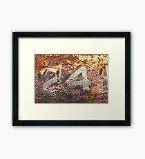 '24' Patina Wall Art Framed Print