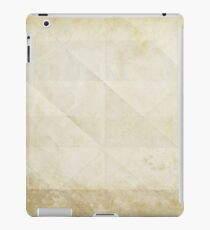 old paper iPad Case/Skin