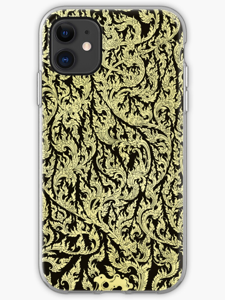 - Golden pattern - iPhone 11 case