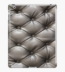 classic black leather iPad Case/Skin