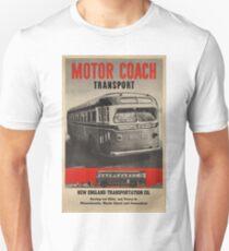 Vintage poster - Motor Coach Transport Unisex T-Shirt