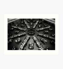 State Library of Victoria - Reading Room Art Print