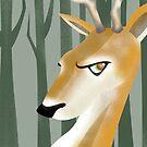 Deer by makoshark