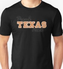 Proud Texas Aunt for Dark Backgrounds Unisex T-Shirt