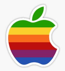 Old Apple Logo Sticker