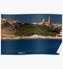 Gozo island Poster