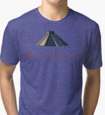 Pyramid of Kukulkan Tri-blend T-Shirt