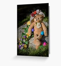 Bear Stories: Have a Beary Happy Easter Greeting Card