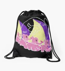 Here They Come Drawstring Bag