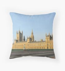 Exodus: Westminster Bridge, London Throw Pillow