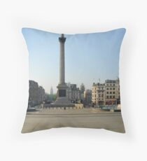 Exodus: Trafalgar Square, London Throw Pillow