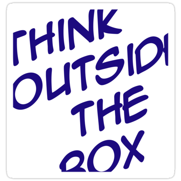 Think outside the box by digerati