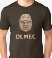Olmec Head Unisex T-Shirt