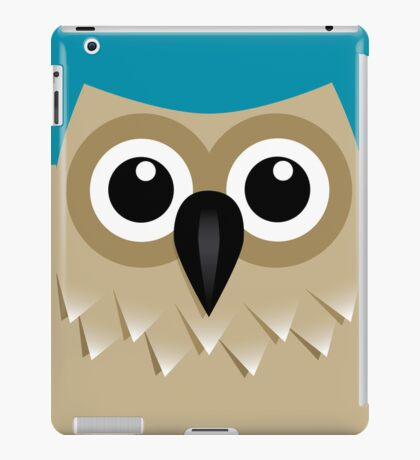 Wise Old Owl - T Shirt iPad Case/Skin