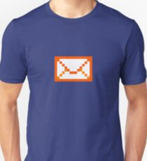 Orangered mail Unisex T-Shirt