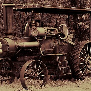 1923 Case Steam Tractor by photokarazy