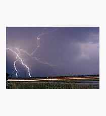 Lightning Thunderstorm DragOn Photographic Print