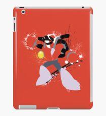 Nitro Man Splattery Vector Design iPad Case/Skin
