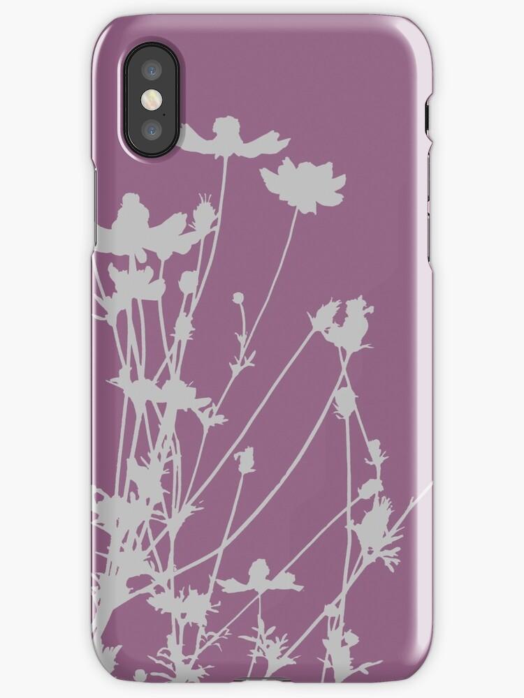 Wildflower Silhouette by runninragged