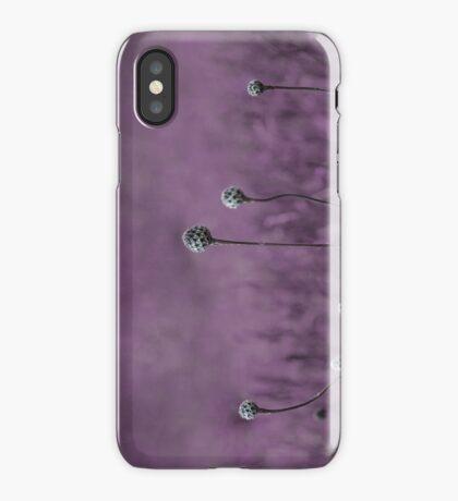 Purple garden iPhone Case