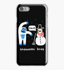 Snowman Bros iPhone Case/Skin