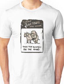 Junktown Jerky Vendor - On The Road- Fallout 4 Unisex T-Shirt