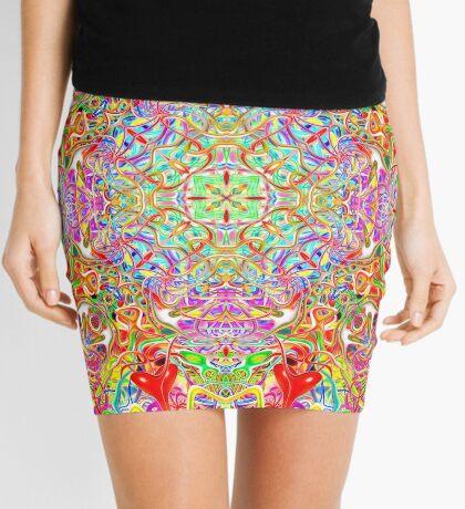 Quatrain Hearts Mini Skirt