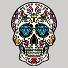 Mexican Skull by Pancho The Macho