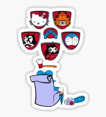 Cat Killer Sticker