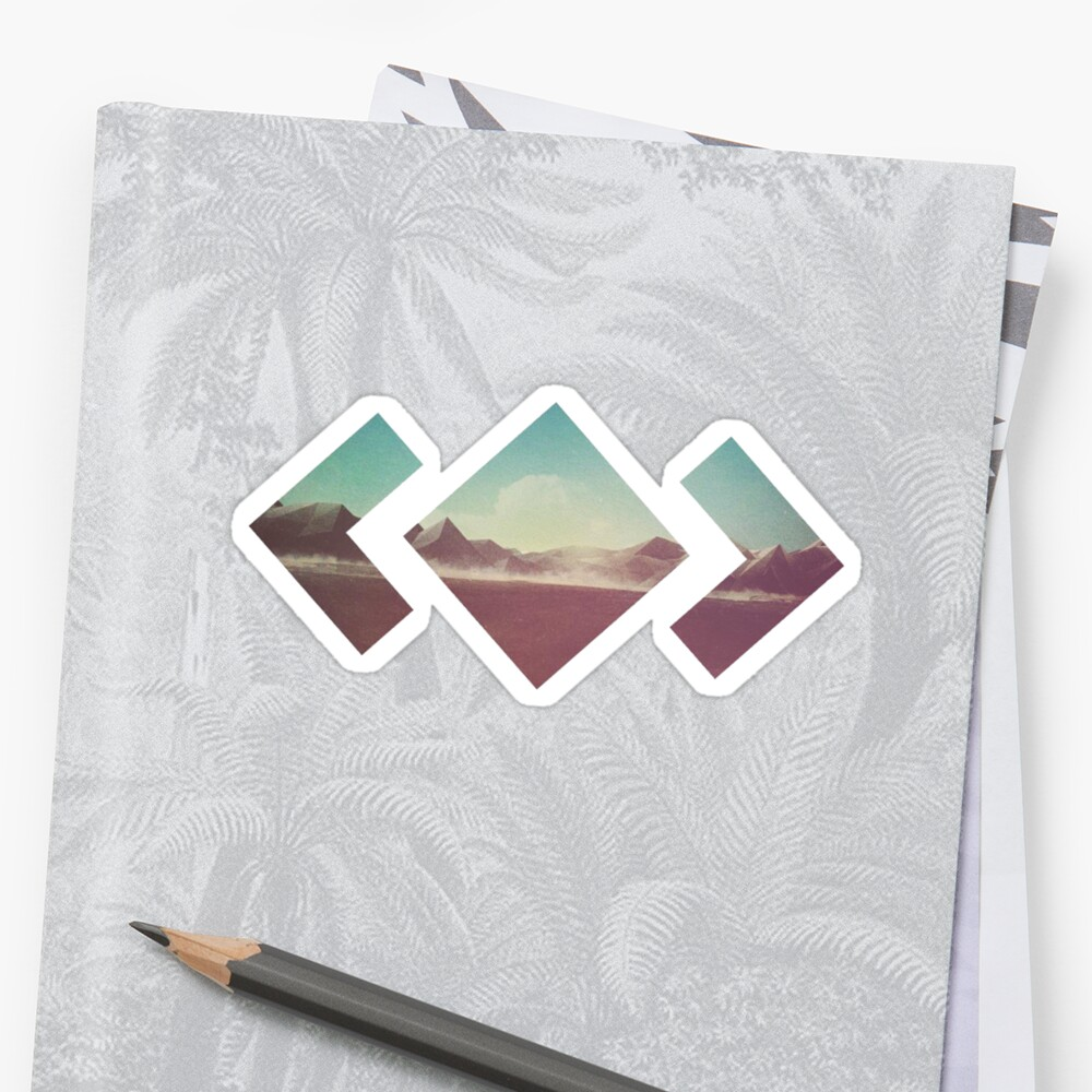 Madeon Adventure Sticker Front
