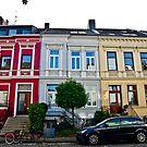 German Row Houses in Bremen by Aaron Holloway