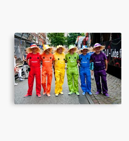 Hamburg Pride Parade Canvas Print