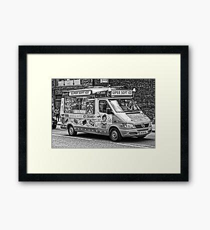 Ice Cream Truck - London Framed Print