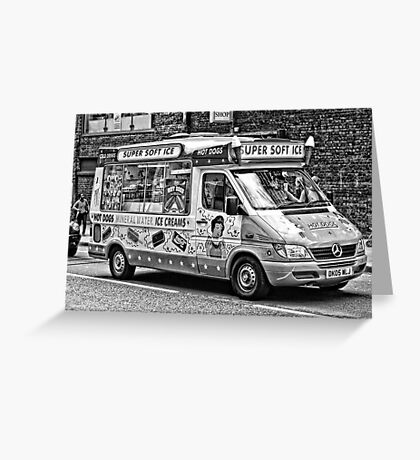Ice Cream Truck - London Greeting Card
