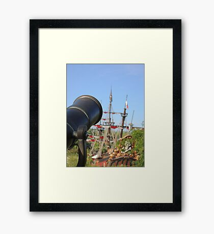 Pirates Ahoy! Framed Print