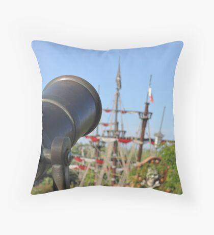 Pirates Ahoy! Throw Pillow