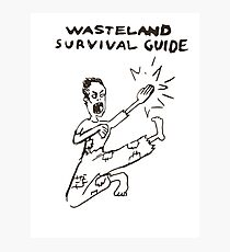 Wasteland Survival Guide - Cover - Fallout 4 Photographic Print