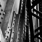 Rotherhithe Bridge - Detail by Aaron Holloway