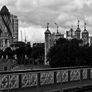London Skyline by Aaron Holloway
