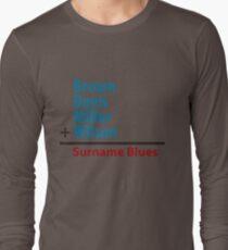 Surname Blues - Brown, Davis, Miller & Wilson Long Sleeve T-Shirt