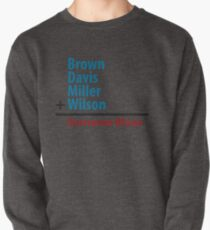 Surname Blues - Brown, Davis, Miller & Wilson Pullover