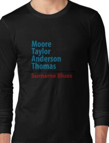 Surname Blues - Moore, Taylor, Anderson, Thomas T-Shirt