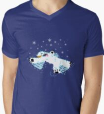 Wampa snow angel  Men's V-Neck T-Shirt