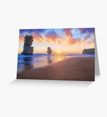 12 Apostles with Marshmallow Skies  (OG) Greeting Card