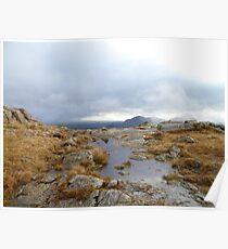Harrison Stickle Moorland Poster