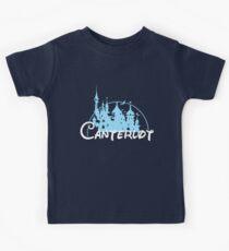 Canterlot Castle Logo Kids Clothes