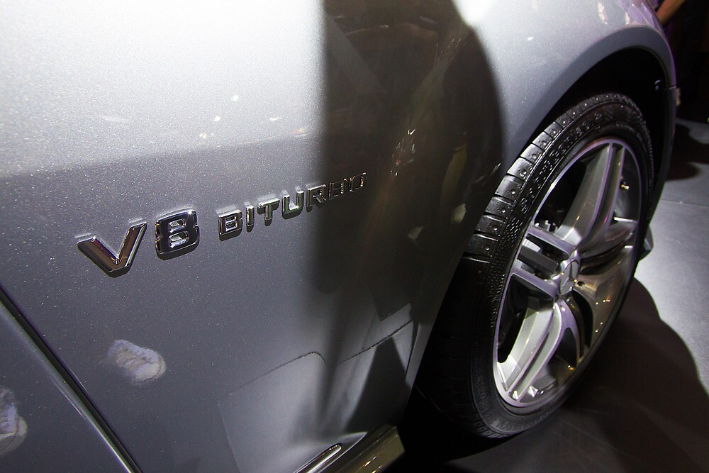 Mercedes-Benz S 63 L AMG Bi-Turbo V8 [ Print & iPad / iPod / iPhone Case ] by Mauricio Santana