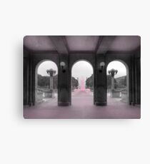 PA Breast Cancer Awareness Canvas Print
